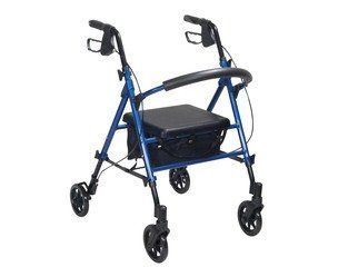 Adjustable Seat Height Rollator