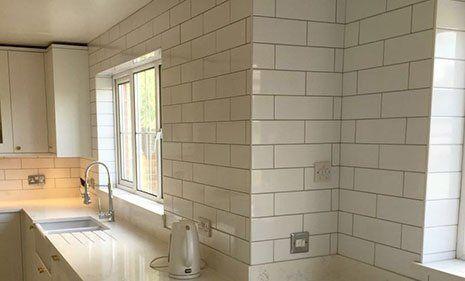 domestic tiling