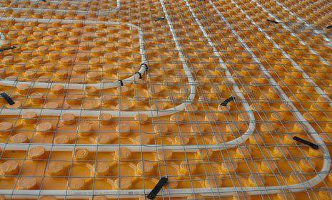 Underfloor heating solutions