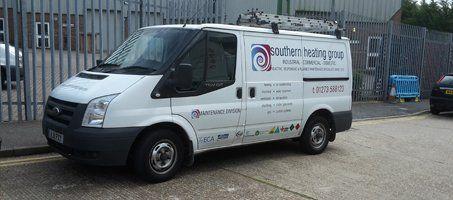 Southern Heating Group Ltd company van