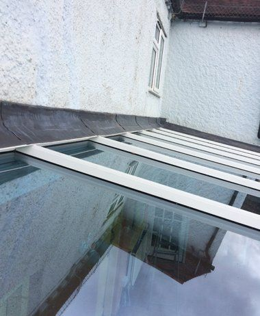 repaired conservatory roof lining