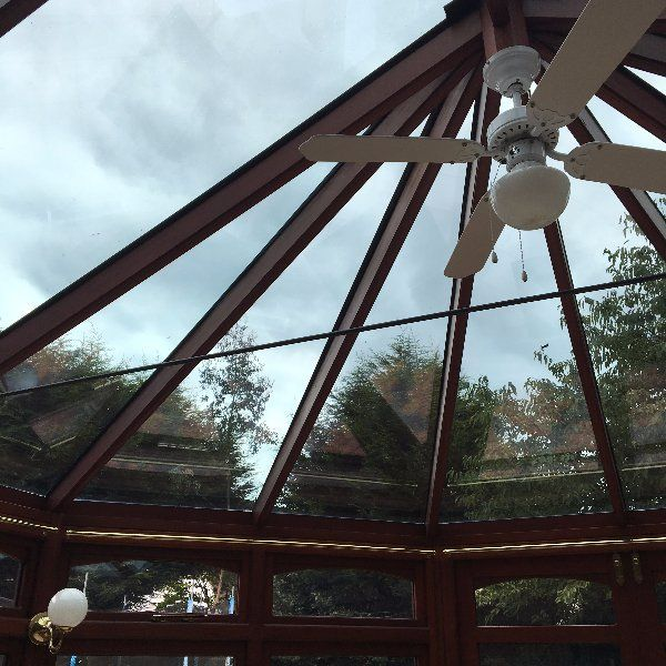 new conservatory glass roof panels