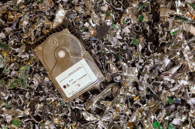 secure hard drive destruction