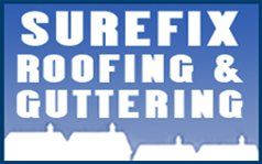 Surefix Roofing and Guttering logo