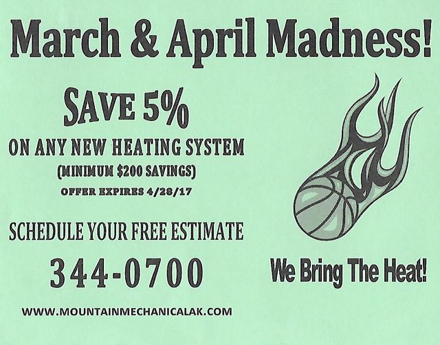 March and April special