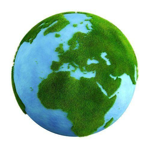 rendering 3D pianeta terra