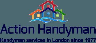 Action Handyman company logo