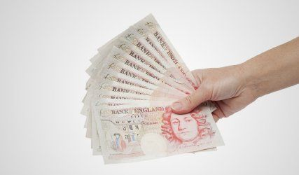 pound currency notes