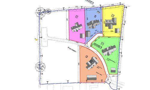 Self-build building plots will full planning permission for sale in Dorrington, Shrewsbury, Shropshire