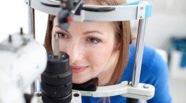 laserterapia , retinopatie, esami oculistici in sede