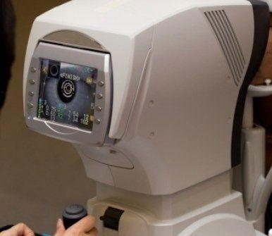 macchinario, attrezzatura per oculisti, monitoraggio vista