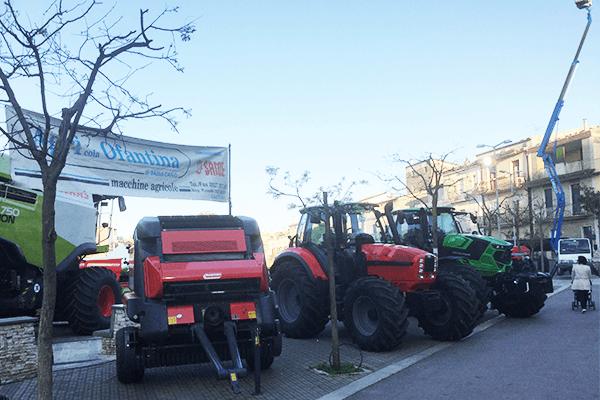 vendita di trattori nuovi