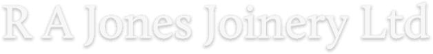 RA jones joinery ltd logo