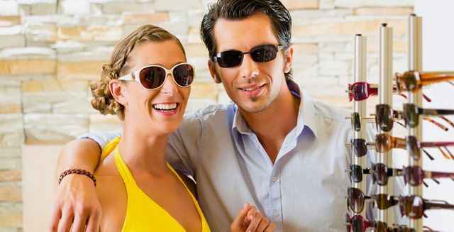 Our wide selection of glasses and sunglasses