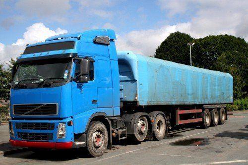 Camion blu