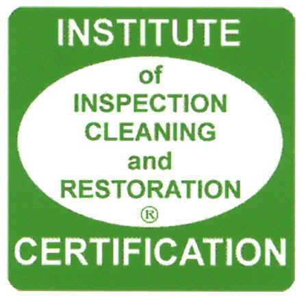 Institute of Inspection Cleaning and Restoration Certified