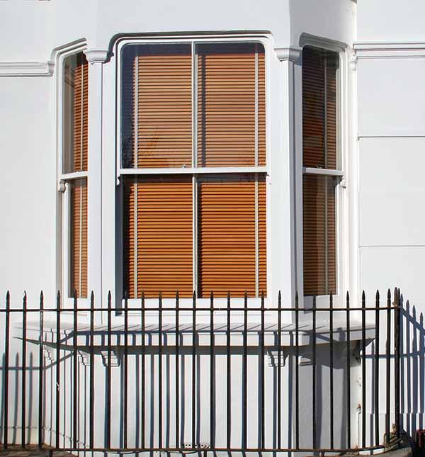 View of sash window