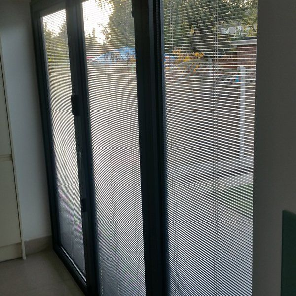 Integral blind installation throughout London on