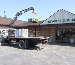 Roofing Materials Delivery, Amherst NY