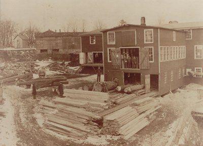 1920s Amherst NY Lumber Yard