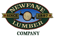 Newfane Lumber Logo, Building Supplies in Lockport NY