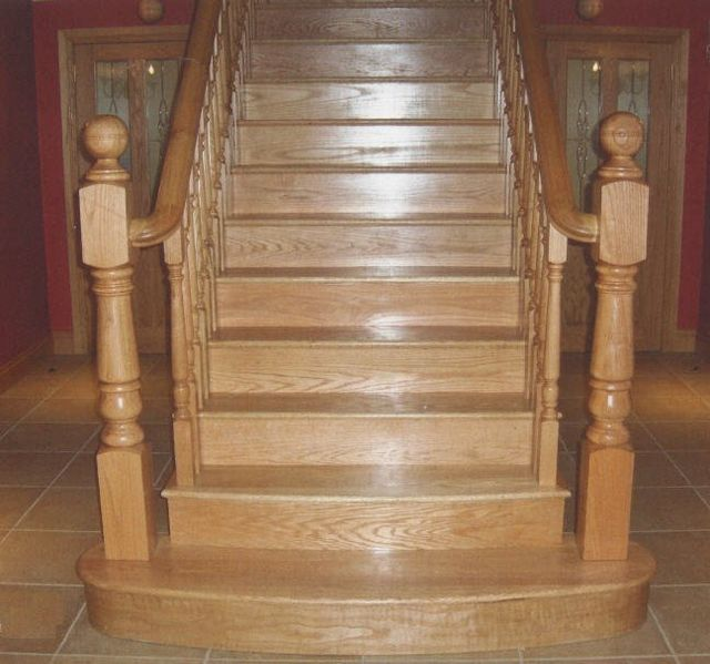 Stairs case installation