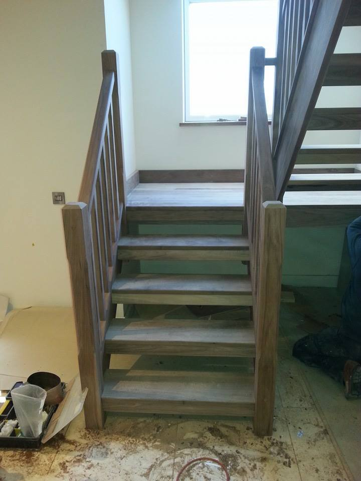 building a staircase