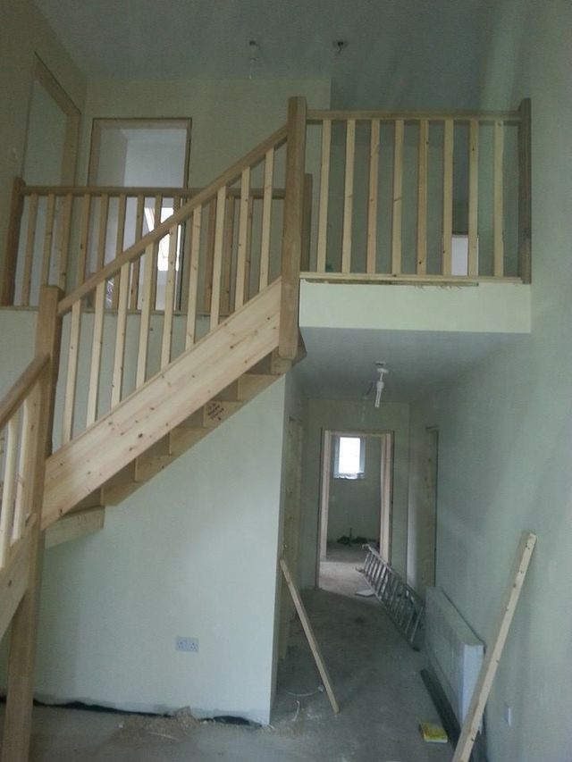 Staircase building
