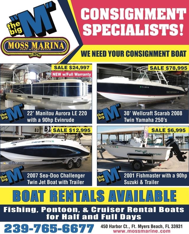 Moss Marina Manitou Boat Sales - Pushing the Perception of