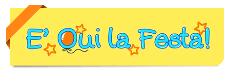 È qui la festa - Logo