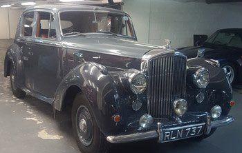 a classic vintage car