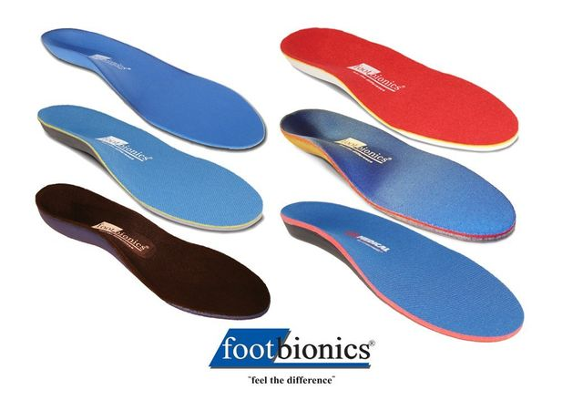 Specialised foot inserts