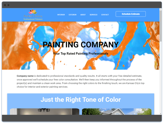 Trijour | Contractor Website Design | Contractors Web Designs