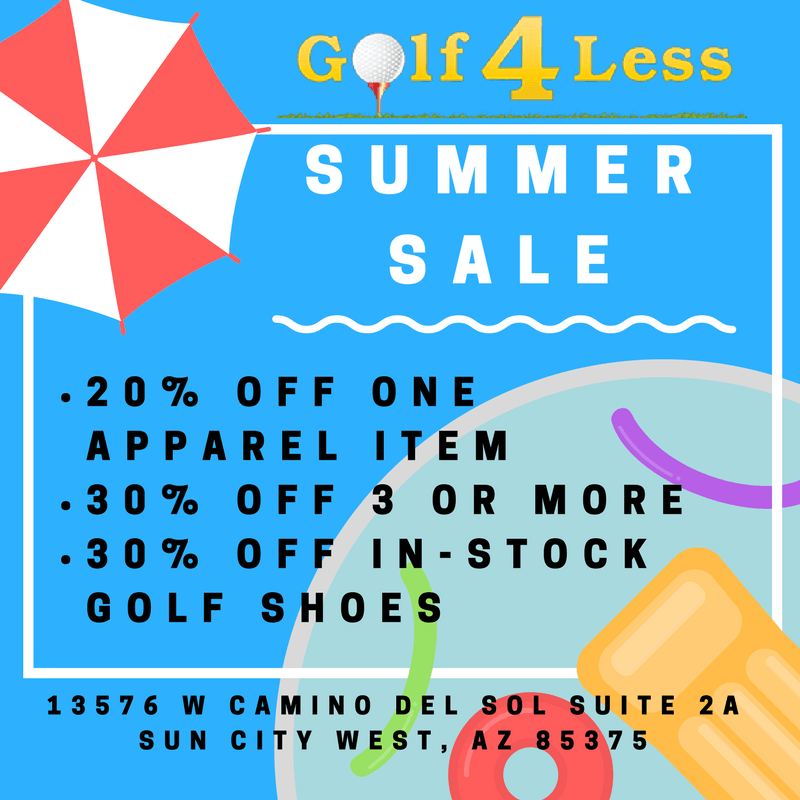 Golf 4 Less >> Promotions Sun City West Az Golf 4 Less