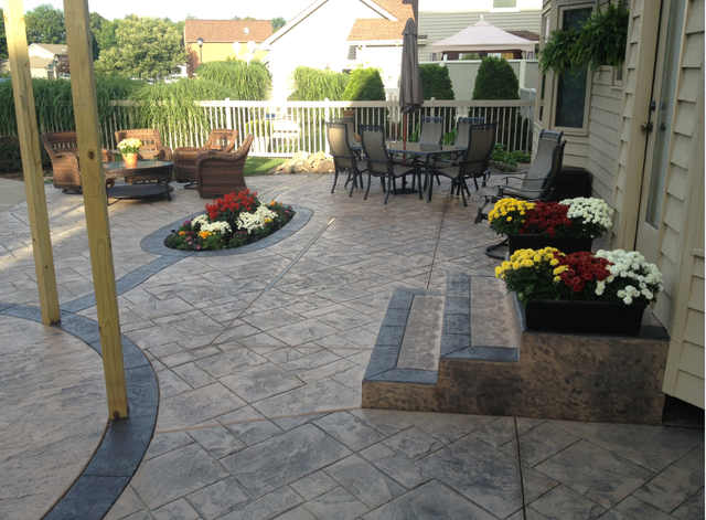 Palermo Patios And Sidewalks Rochester Ny Home