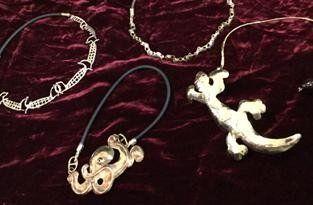 Gioielli in bronzo  e argento
