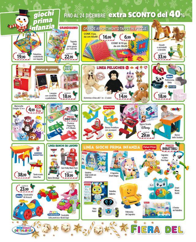 Giocattoli e articoli per l'infanzia - Casarano - Lecce - MIo Bimbo