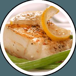 menù di pesce ristorante
