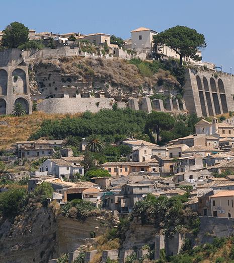 Gerace e Stilo, vicino al Santuario della Madonna dello Scoglio in Calabria