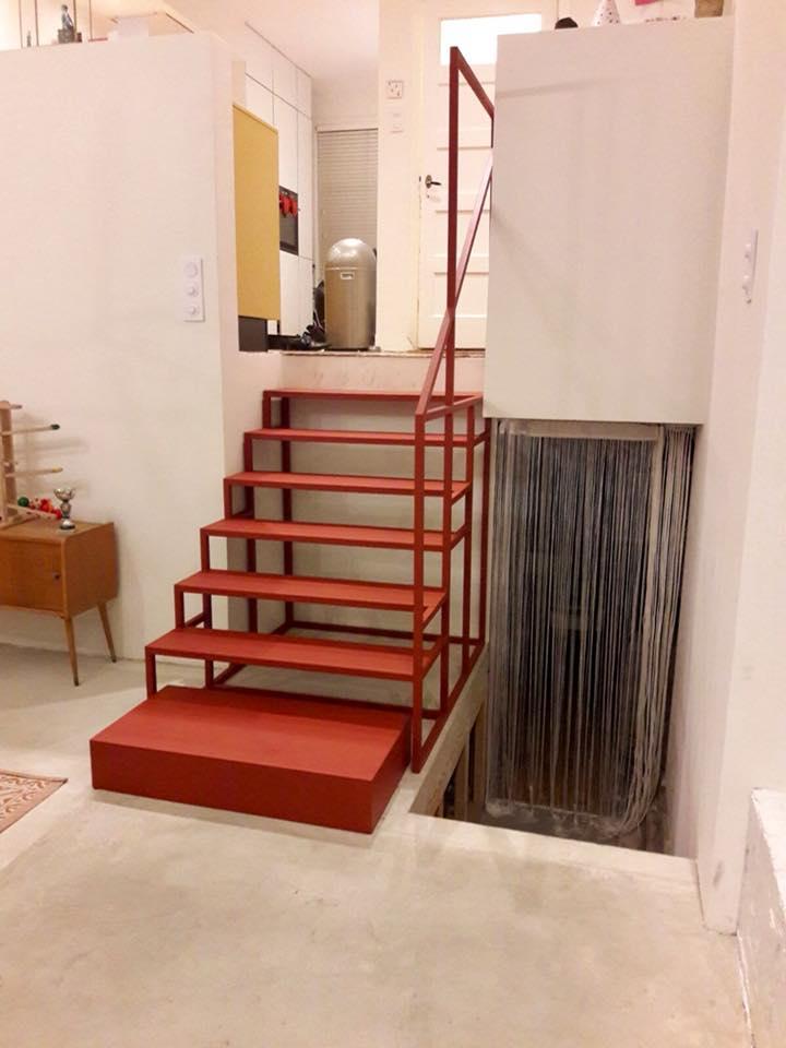 Metaalwerkplaats en meubelmakerij en lascursussen in nijmegen for Trap tekenen programma