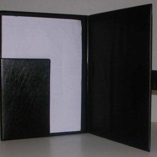cartella porta blocchi in pelle