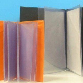 porta documenti plastica