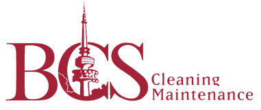 bcs cleaning maintenance business logo