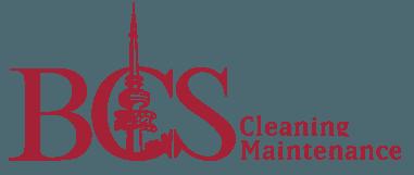 bcs cleaning maintenance business logo