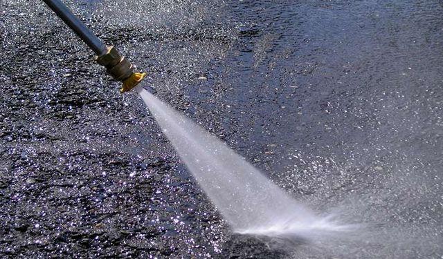 bcs cleaning maintenance water spraying