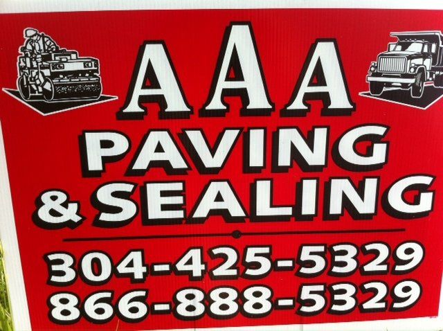 AAA paving & sealing logo