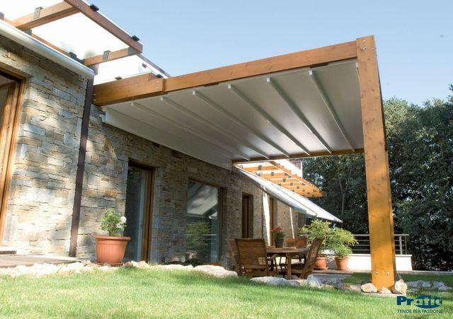 struttura in legno con copertura NON SOLO OMBRA Ravenna