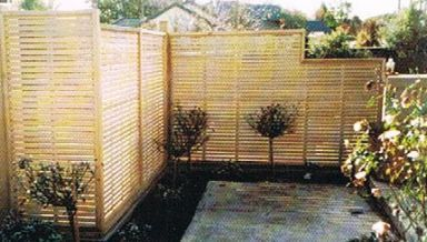 Custom made trellis in Christchurch