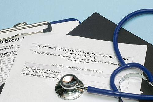 Personal injury form used by your personal injury attorney in Dayton