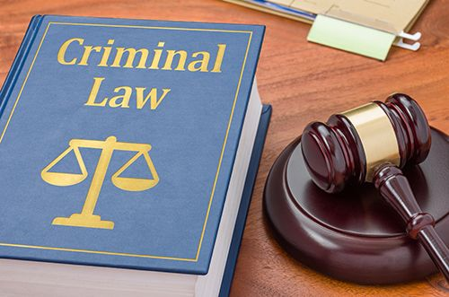 Criminal law book for an experienced criminal law attorney in Dayton